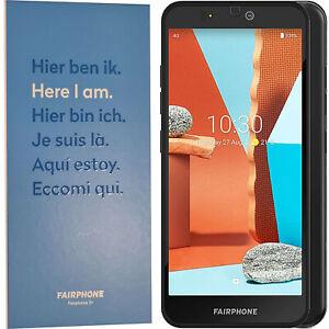 BINB Fairphone 3+ Dual SIm 64GB + 4GB Black Factory Unlocked 4G/LTE OEM