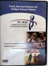 Food Sex & Science for Today's Cancer Patient Dr. Israel Barken 4 DVD - Prostate