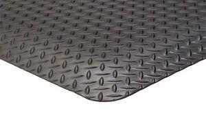 "4' x 10' 1/2""  Thick  DIAMOND Surface Anti Fatigue Matting Industrial ."