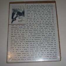 Stephen King Bag Of Bones PROMO Magnetic Poetry SEALED free shipping