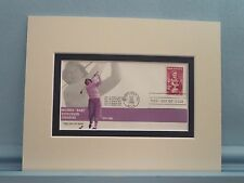 Babe Didrickson Zaharias wins the 1954 Womens's Open & First Day Cover