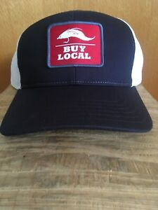 SIMMS Fishing Products Buy Local Fly Patch Hat