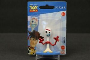 "Disney Toy Story 4 Forky 2"" Mini Figure Cake Topper Figurine Mattel NEW"
