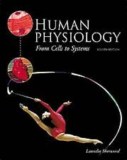 Human Physiology: From Cells to Systems, Good Condition Book, Sherwood, Lauralee