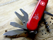 RARE Wenger Cyclist with small clip-point blade 1.3511 | couteau suisse sak