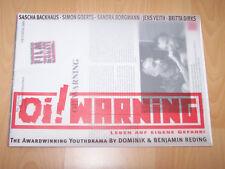 OI! WARNING - Presseheft ´00