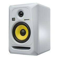 "KRK Rokit RP5 G3 White 5"" 2-Way Active Powered Studio Monitor Speaker"
