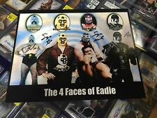 The 4 Faces of Bill Eadie (Ax, Masked Superstar) Signed 8x10 WWE Auto Photo COA