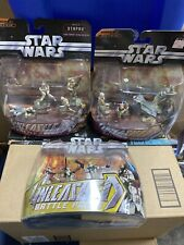 Star Wars Battle Packs Unleashed Episode Iii Revenge Of The Sith Lot Of 3