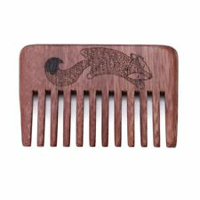 Wood Beard & Mustache Comb - Fox in the Clouds by Geekwood