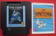 Nintendo NES Game King of Kings: The Early Years *Rare Bible Games*  w/ Manual