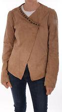 Liu jo exclusivas chaqueta de cuero ziegenvelour Suede un sueño GR it 46 d 38/40