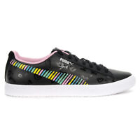 PUMA Men's Clyde Bradley Theodore Black/Prism Pink Shoes 36955501 NEW!