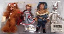 Vintage 1987 Kurt Adler WIZARD OF OZ Dolls Set Ornaments NIP