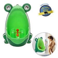Potty Training Baby Boy Portable Pee Target Urinal Frog Kids Toddler Bathroom Us