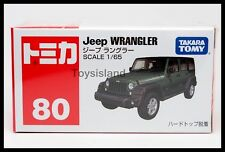TOMICA #80 JEEP WRANGLER 1/65 TOMY 2015 August NEW MODEL