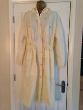 BNWT NEXT Cream Ecru Shower Resistant Longline Hooded Jacket Anorak RRP £50