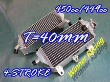 Aluminum Radiator Yamaha YZ450F YZF450 FA/FB/FD 450CC/449CC 4-STROKE 2010-2013