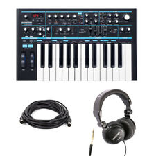 Novation Bass Station II with Headphones and Midi Cable