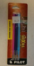 Pilot Frixion Fine 0.7mm Assorted Colors Gel Ink Refills