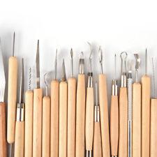 22 pezzi di argilla che intagliano lo strumento di hobby di forma dell'argillaPB