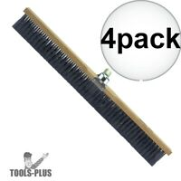 "Kraft Tool CC256 Concrete Finishing Broom The Performer 36"" 4x New"