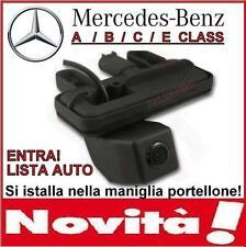 RETROCAMERA PARCHEGGIO MANIGLIA TELECAMERA MERCEDES A180 B200 C300 E300 GLK260