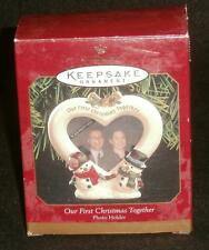 Hallmark Keepsake Christmas Ornament 1999 Our First Christmas Together