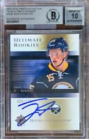 2015 2016 ULTIMATE Jack Eichel AUTO 10 BGS #55/175 RC UPPER DECK ROOKIE ROOKIES