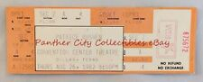 Orig Dallas Concert Ticket 1982 Patrice Rushen Jazz Pianist R&B Convention Cntr