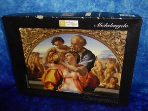 Fine Art 1000 PIECE PUZZLE Museum Collection Michelangelo Clementoni Uffizi