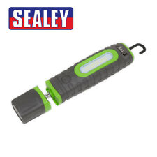Sealey LED3606G Rechargeable 360° Inspection Lamp 24 SMD LED + 3W LED