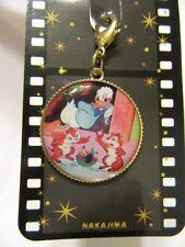 Disney Chip & Dale Donald Key Chain Charm Coin 3cm New Japan