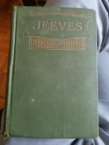 Jeeves 1sr Edition By P.G. Woodhouse  1923