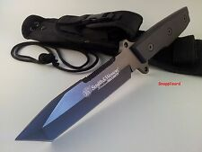 Smith & Wesson Homeland Security Tanto Knife CKSUR4 Survival Tactical Knife