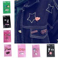 Blackpink TWICE GOT7 EXO Seventeen Izone Badge Brooch Chest Pin Souvenir Fans