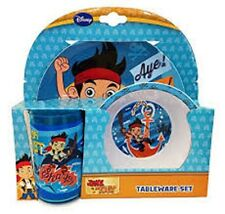 Spearmark  Disney Jake And The Neverland Pirate 3 - Piece Dinner Tableware set