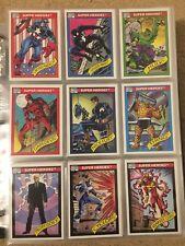 1990 Marvel Universe Series 1 Complete 162 Card Set NM