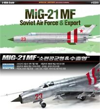 Academy 1/48 #12311 MIG-21MF Soviet Air Force & Export With Free Gifts