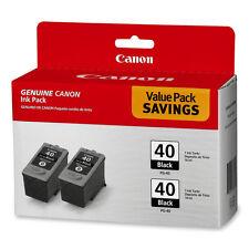 Canon Ink Cartridge 2/PK Black PG40TWINPK