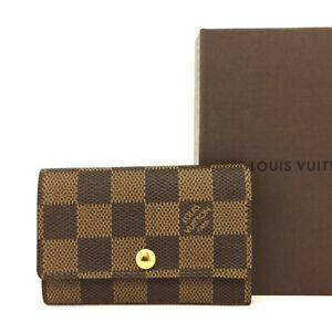 Louis Vuitton Damier Multicles 6 Ring Key Case /E1467