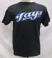 Toronto Blue Jays Men's Short Sleeve T-Shirt MLB Majestic Black Size S, 2XL