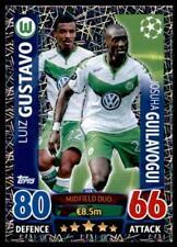 Match Attax Champions League 15/16 Gustavo / Guilavogui VfL Wolfsburg No. 126