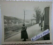 Foto mit WH - LKW s und Soldaten an der MAAS - Belgien. (10)