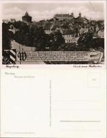 Ansichtskarte Nürnberg Blick vom Hallertor 1940