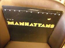 The Manhattans Back To Basics vinyl LP 1986 Columbia Records VG+