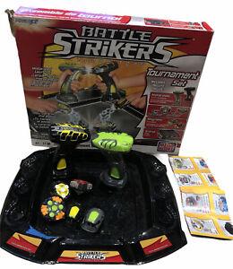 MegaBloks Battle Strikers Turbo Tops Tournament Set
