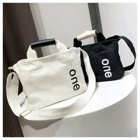 Women's Casual Shoulder Canvas Bag Travel Shopping Handbags Tote Crossbody Bags