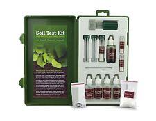 Professional Soil Test Kit pH N P K 40 Tests Landscaper Study Garden Equipment