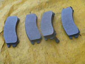New Semi Metallic Brake Pads Front Remsa MKD357 Fits 86-89 90 Pulsar NX Sentra